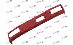 Бампер F красный металлический (до 2007г) для самосвалов фото Симферополь